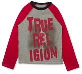 True Religion Boys' Color-Block Drip Signature Tee - Sizes S-XL