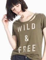 Lucky Brand Wild & Free Tee