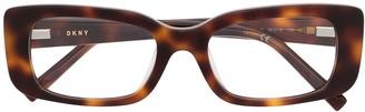 DKNY Tortoiseshell Optical Glasses