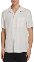 Rag & Bone Glenn Stripe Slim Fit Bowling Shirt