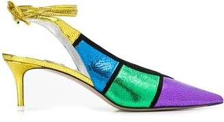 ATTICO Colour Block Pumps