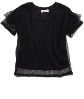 Ten Sixty Sherman Girl's Ruffle Sleeve Tee