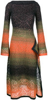 Peter Pilotto mohair blend midi-dress
