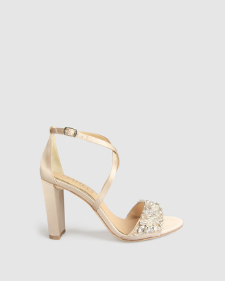 Harlo - Women's Nude Heeled Sandals - Audrey - Size One Size, 10 at The Iconic