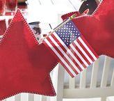 Pottery Barn Kids Small American Flag