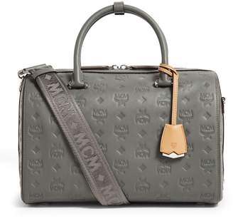 MCM Boston Monogram Holdall Bag