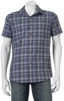 Apt. 9 Men's Slim-Fit Patterned Stretch Button-Down Shirt