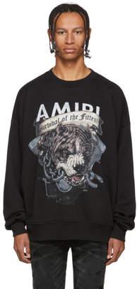 Amiri Black Pitbull Sweatshirt