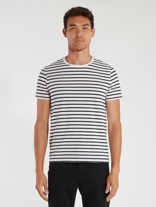 ATM Anthony Thomas Melillo Classic Jersey Striped Short Sleeve Tee