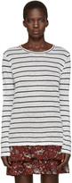 Etoile Isabel Marant Off-White Striped Aaron T-Shirt