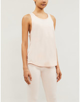Lorna Jane Excel open-back stretch-jersey top
