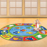 Freya Me and Child's Animals Design Floor Rug