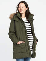 Old Navy Maternity Hooded Frost-Free Parka