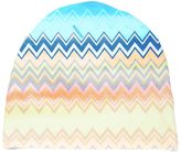 Missoni Zigzag Printed Doubled Cotton Jersey Hat