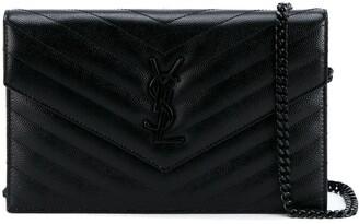 Saint Laurent Envelope chain wallet