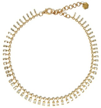 Shay Dot Dash Diamond & 18kt Gold Necklace - Yellow Gold
