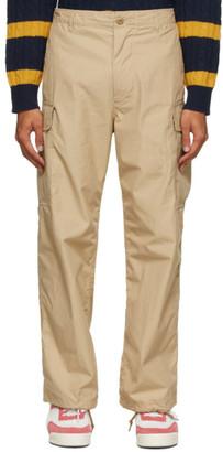 Beams Beige Six-Pocket 80/3 Ripstop Cargo Pants