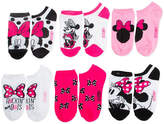 JCPenney DISNEY MINNIE Disney Minnie Mouse 5-pk. No-Show Socks - Girls