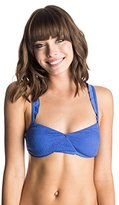 Roxy Women's Paradise Frill Tri Bikini Top