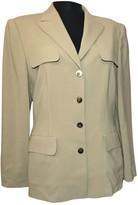 Laurèl Khaki Wool Jacket for Women