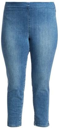 Nydj, Plus Size Skinny Ankle Pull-On Jeans