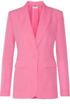 Rachel Zoe Aero Silk Crepe De Chine Blazer - Pink