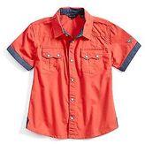 GUESS Rylan Poplin Shirt (4-16)