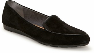 Me Too Slip-On Leather Wedge-Sole Loafers - Anissa