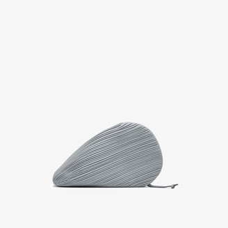 Neous grey Pluto leather clutch bag