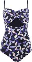 Kate Spade Spinner cut out swimsuit