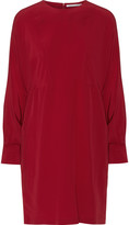 Agnona Stretch-silk mini dress