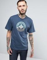 Columbia Tried & True Logo T-Shirt in Gray