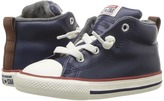 Converse Chuck Taylor All Star Street Leather and Fleece Mid Boys Shoes