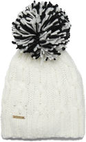 Nine West Hand Knit Cable Cuff Hat