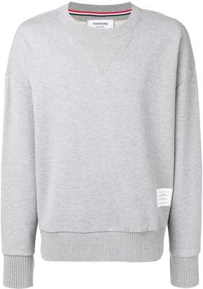 Thom Browne Oversized Loopback Sweatshirt