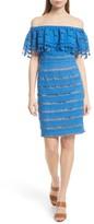 Tracy Reese Women's Off The Shoulder Crochet Dress