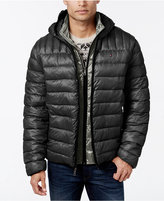 Tommy Hilfiger Men's Big & Tall Layered Packable Puffer Coat