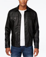 American Rag Men's Bandit Trucker Bomber Jacket, Only at Macy's