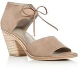 Eileen Fisher Ann Ankle Tie High Heel Sandals
