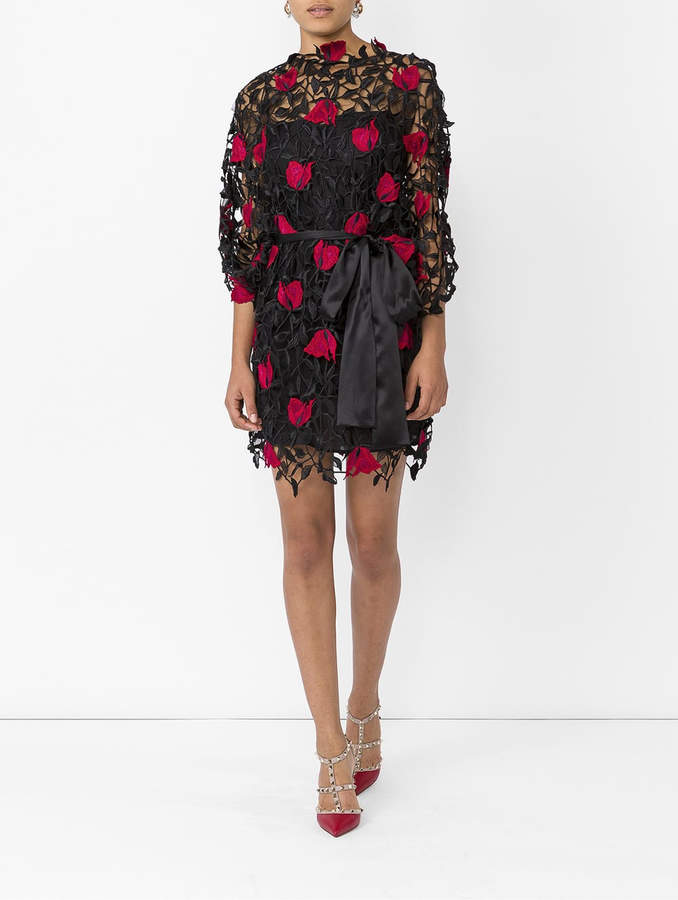 Christopher Kane Enchanted rose dress