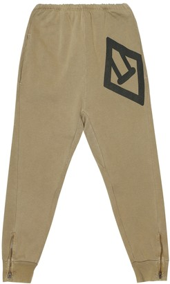 The Animals Observatory Panther cotton-jersey trackpants