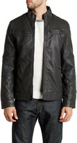 X-Ray Faux Leather Jacket