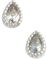 Jules Smith Designs Micro Teardrop Stud Earrings
