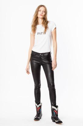 Zadig & Voltaire Skinny Patti T-shirt