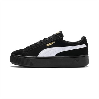 Puma Vikky Stacked Suede Womens Sneakers
