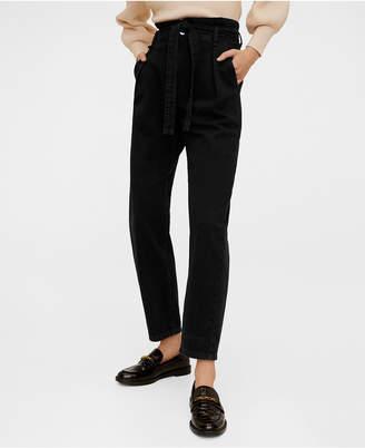 MANGO Paper Bag Jeans