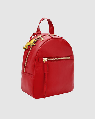 Fossil Megan Red Backpack