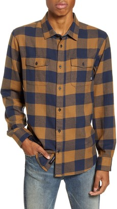 Vans Aliso Classic Fit Buffalo Check Button-Up Flannel Shirt