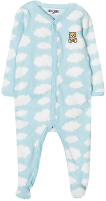 Moschino Baby Blue Onesie