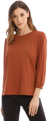 Piper Bubble Sleeve Solid Tee